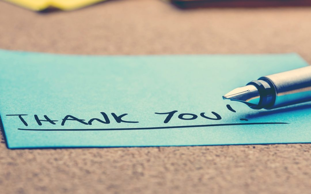"""The Art of """"Thank You"""""""